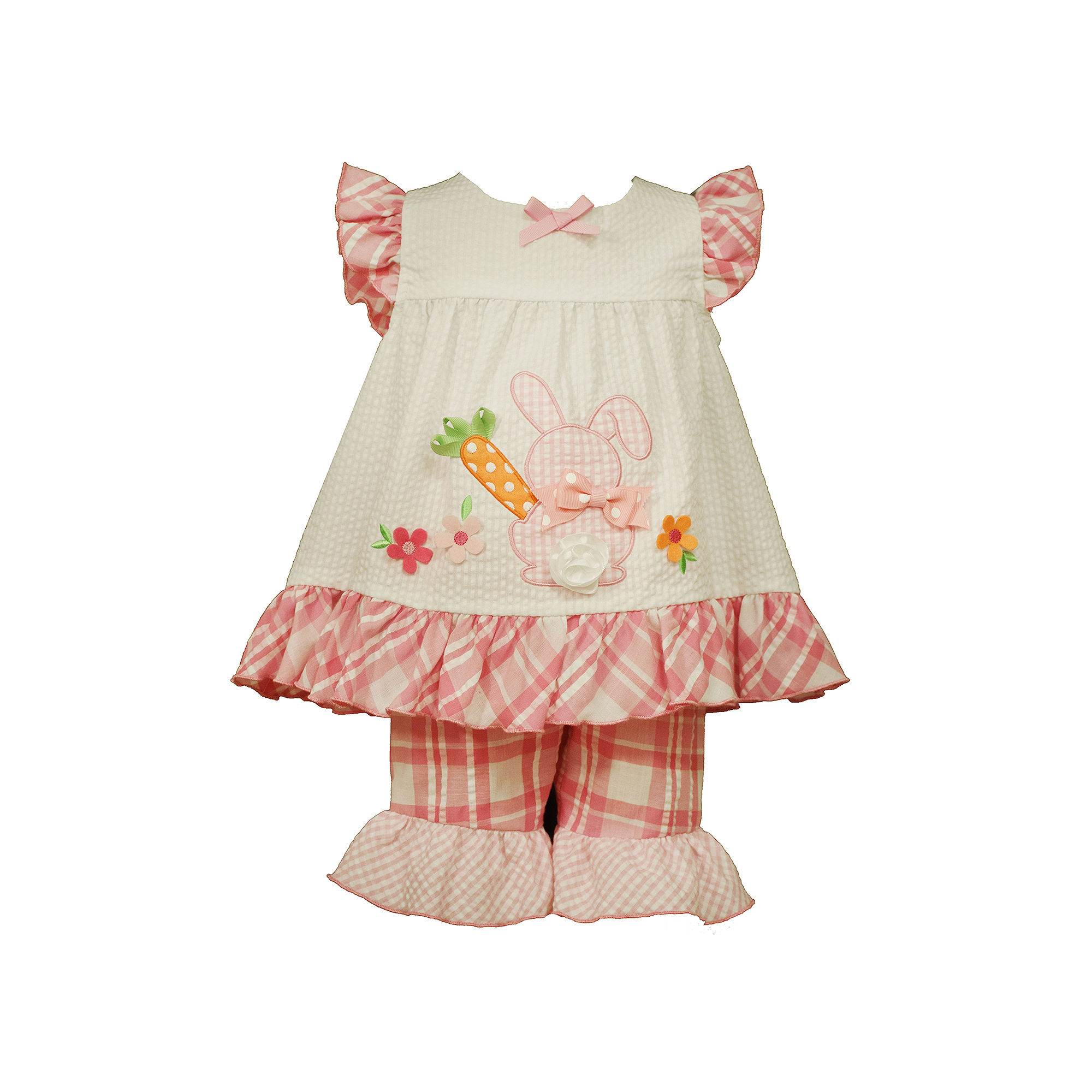 Bonnie Jean Sleeveless Bunny Dress and Capri Pants Set - Toddler Girls 2t-4t plus size,  plus size fashion plus size appare
