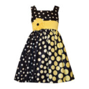 Bonnie Jean® Polka Dot Dress - Preschool Girls 4-6x