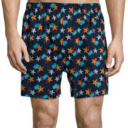 Stafford® 4-pk. Woven Cotton Boxers - Big & Tall