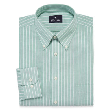 jcpenney.com | Stafford® Travel Winkle-Free Oxford Dress Shirt - Big & Tall