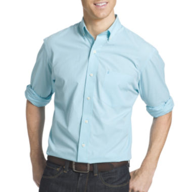 jcpenney.com | IZOD® Long-Sleeve Essential Sport Shirt