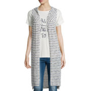 Pink Republic Striped Vest