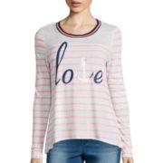 Self Esteem® Long-Sleeve Ringer T-Shirt