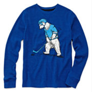 Arizona Long-Sleeve Graphic Thermal Tee - Boys 8-20 and Husky