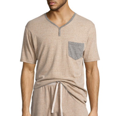 jcpenney.com | Stafford® Knit Y-Neck Sleep Shirt