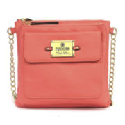 nicole by Nicole Miller® Casey Triple Pocket Crossbody Bag