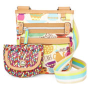 Lily Bloom Whitney Mini With Wallet Crossbody Bag