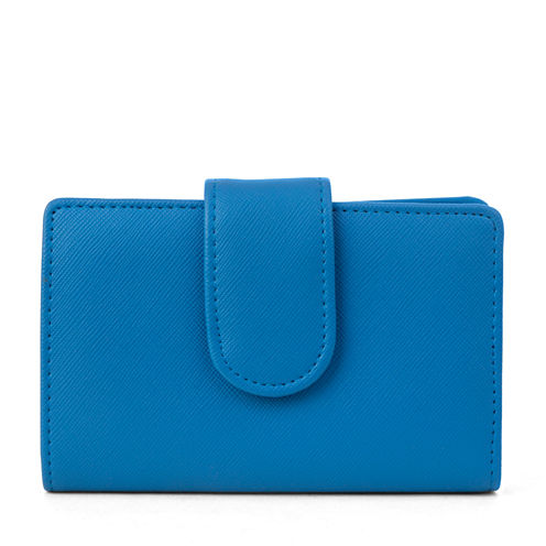 Mundi S&P Indexer Saffiano RFID Blocking Indexer Wallet