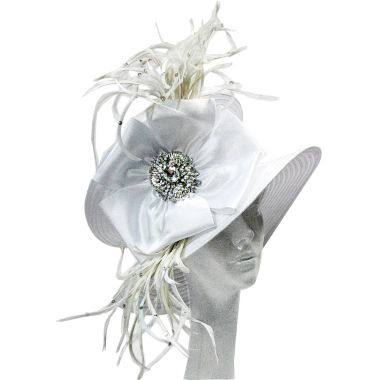 jcpenney.com | Whittall & Shon Derby Hat Sailor W Medallion Bow And Brooch