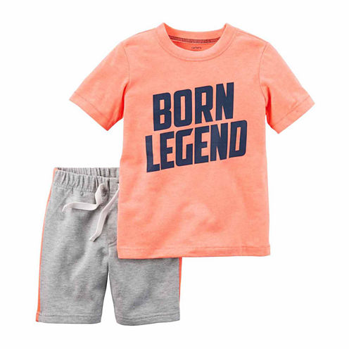 Carter's 2pc Orange Legend Tee