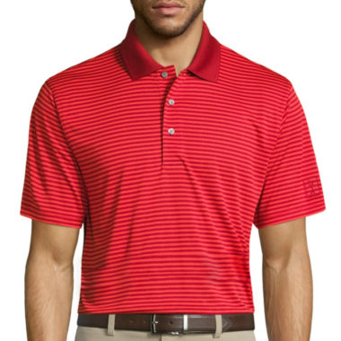 jcpenney.com | PGA Tour Short Sleeve Stripe Mesh Polo Shirt