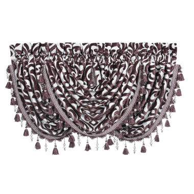 jcpenney.com | Queen Street Sabrina Rod-Pocket Waterfall Valance