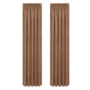 jcpenney.com | Queen Street Montclair Rod-Pocket Curtain Panel