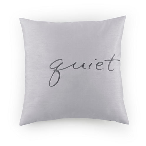 Kathy Davis Solitude Square Throw Pillow