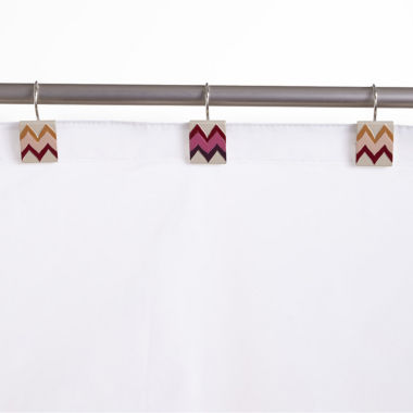 jcpenney.com | Popular Bath Flame Stitch Shower Curtain Hooks