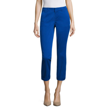 jcpenney.com | a.n.a. Rolled Chino Crop