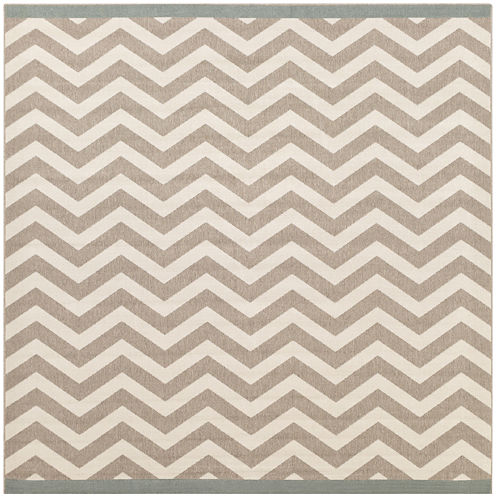 Seaforth Indoor/Outdoor Square Rugs