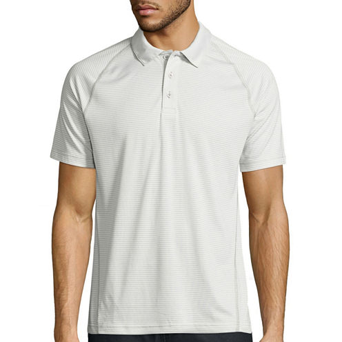 Msx By Michael Strahan Short Sleeve Solid Polo Shirt