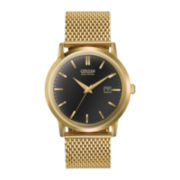 Citizen® Eco-Drive™ Mens Gold-Tone Mesh Band Watch BM7192-51E
