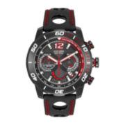 Citizen® Eco-Drive® Primo Stingray Mens Black Leather Strap Watch CA4085-08E