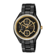 Drive from Citizen® Eco-Drive® Womens Crystal-Accent Black Watch FD1068-53E