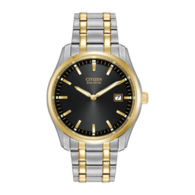 jcpenney.com | Citizen® Eco-Drive® Mens Two-Tone Stainless Steel Watch AU1044-58E