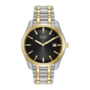 Citizen® Eco-Drive™ Mens Two-Tone Stainless Steel Bracelet Watch