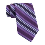 Claiborne® Tom Textured Stripe Tie