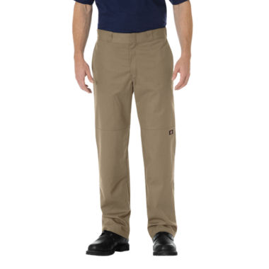 jcpenney.com | Dickies® Regular-Fit Straight-Leg Double Knee Twill Work Pants