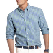 IZOD® Essential Plaid Button-Front Shirt