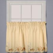 Seabreeze Rod-Pocket Window Tiers