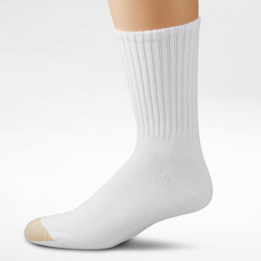 jcpenney.com | Gold Toe® 6-pk. Athletic Crew Socks–Big & Tall