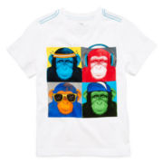 Okie Dokie® Short-Sleeve Graphic Tee – Boys 4-7