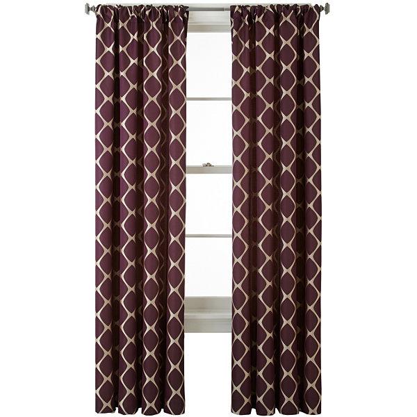 Studio Twist Rod Pocket/Back Tab Curtain Panel