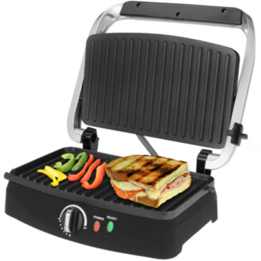 jcpenney.com | Kalorik® 2-Slice Stainless Steel Panini Grill