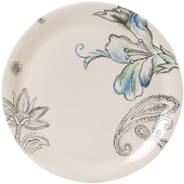 jcpenney.com | Fitz and Floyd® Paisley Park Floral Dinner Plate