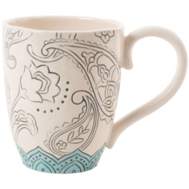 jcpenney.com | Fitz and Floyd® Paisley Park Floral Mug