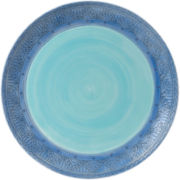 Fitz and Floyd® Paisley Park Blue Dinner Plate
