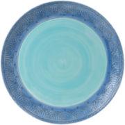 Fitz and Floyd® Paisley Park Blue Dinner Plate