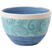 Fitz and Floyd® Paisley Park Blue Soup Bowl