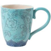 Fitz and Floyd® Paisley Park Blue Mug