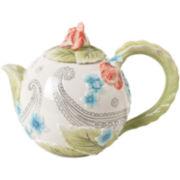 Fitz and Floyd® Paisley Park Teapot
