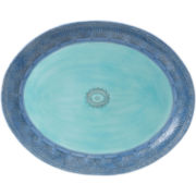 Fitz and Floyd® Paisley Park Blue Serving Platter