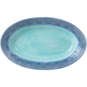 Fitz and Floyd® Paisley Park Blue Serving Bowl