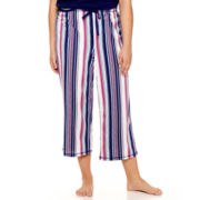 Sleep Chic Knit Capri Pajama Pants - Plus