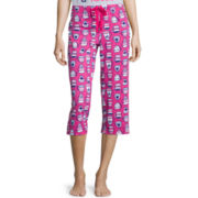 Sleep Chic Knit Capri Pajama Pants