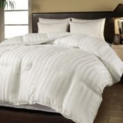 Duraloft Damask-Stripe Heavy-Warmth Down-Alternative Comforter
