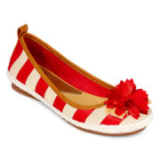 Yuu™ Garet Striped Flats