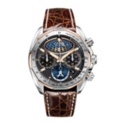 Citizen® Eco-Drive® Mens Moon Phase Flyback Chronograph Watch AV3006-09E