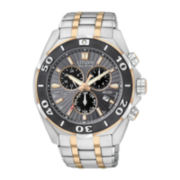 Citizen® Signature Courageous Mens Two-Tone Chronograph Watch BL5446-51H